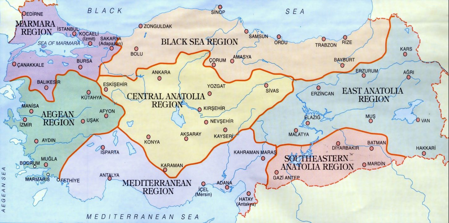 Picture of: Geographical Turkey Adviceturkey